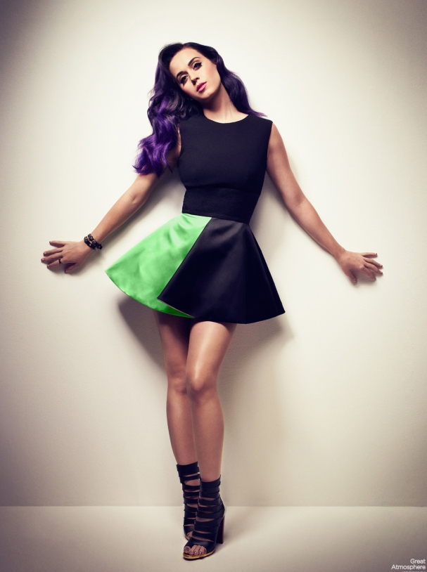 Great Atmosphere Katy Perry Photoshoot