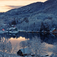 Great Atmosphere - Beautiful Norway Winter