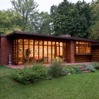 Great Atmosphere - beautiful house, Frank Lloyd Wright