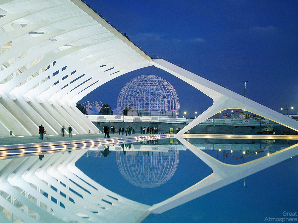 Santiago calatrava amazing architecture great atmosphere for Amazing modern architecture
