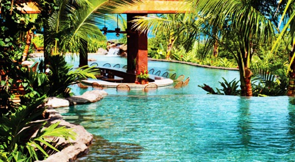 Great atmosphere amazing 18 pools that you would like to for Pool design costa rica