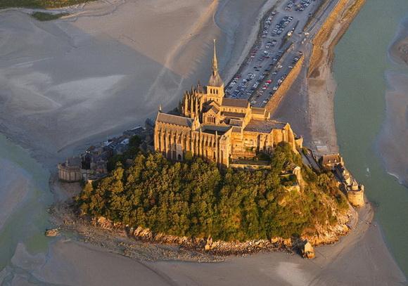 L'abbaye du Mont-Saint-Michel, Le Mont-Saint-Michel, France 2010
