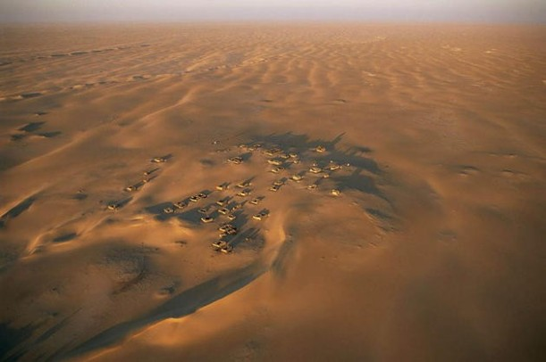 aerial-africa-4-Arouane-a-secluded-village-in-the-Sahara-Desert