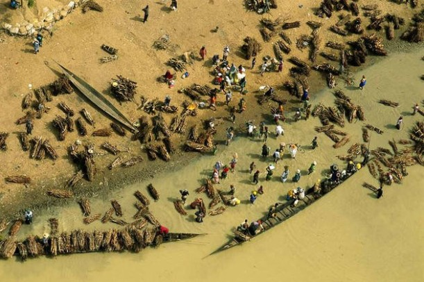 aerial-africa-7-Buy-firewood- Djenne-Mali-amazing-view-great-atmosphere