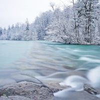 Amazing, winter river