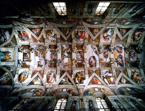 best-views-in-the-world-8-Sistine-Chapel