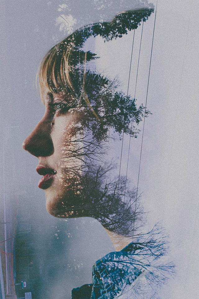 Double-Exposure-Portraits-by-Sara-K-Byrne-7-great-atmosphere ...