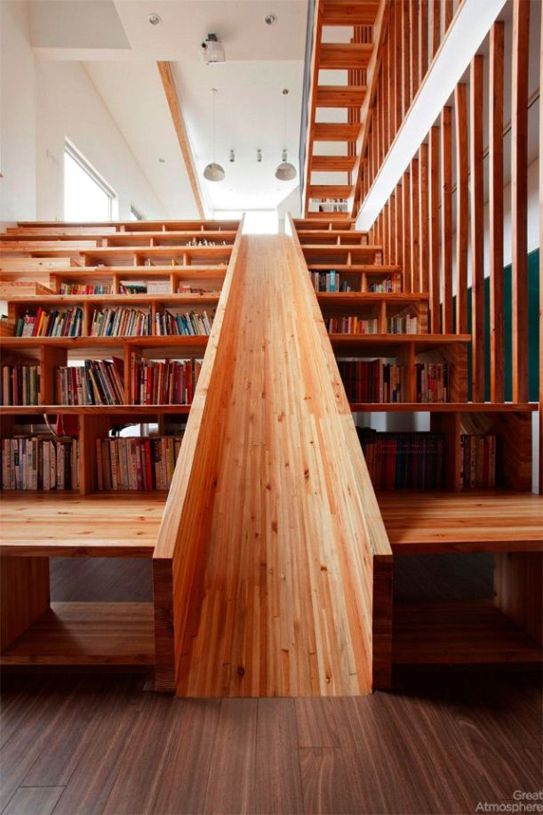 house-library-slide-by-Moon-Hoon-1-great-atmosphere-creative-photography