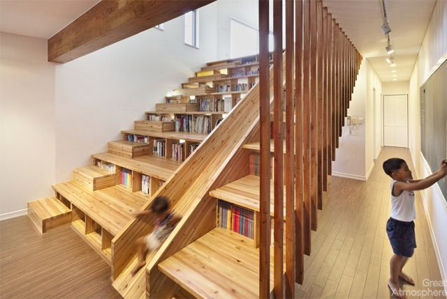 house-library-slide-by-Moon-Hoon-2-great-atmosphere-creative-photography