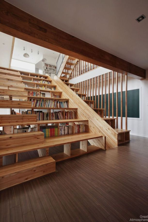 house-library-slide-by-Moon-Hoon-8-great-atmosphere-creative-photography