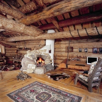 Great Atmosphere, my cabin, living room