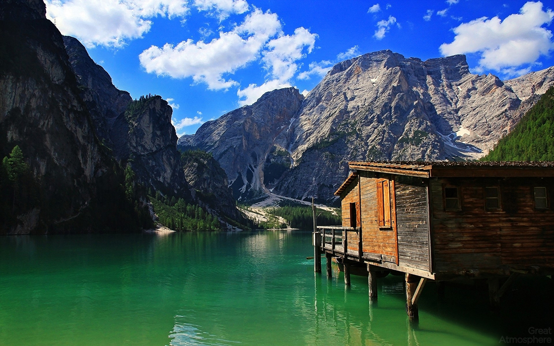 Green Lake Cabin With Beautiful View Great Atmosphere