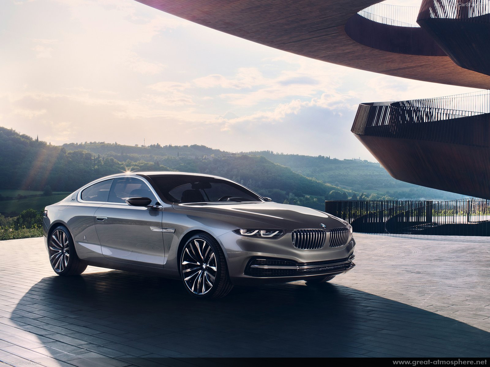 Amazing BMW Pininfarina Gran Lusso Coupe Concept