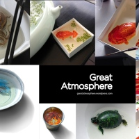 Three Dimensional Animals Painted in Layers of Resin by Keng Lye on Great Atmosphere