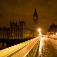 Big Ben London at night, Great Atmosphere
