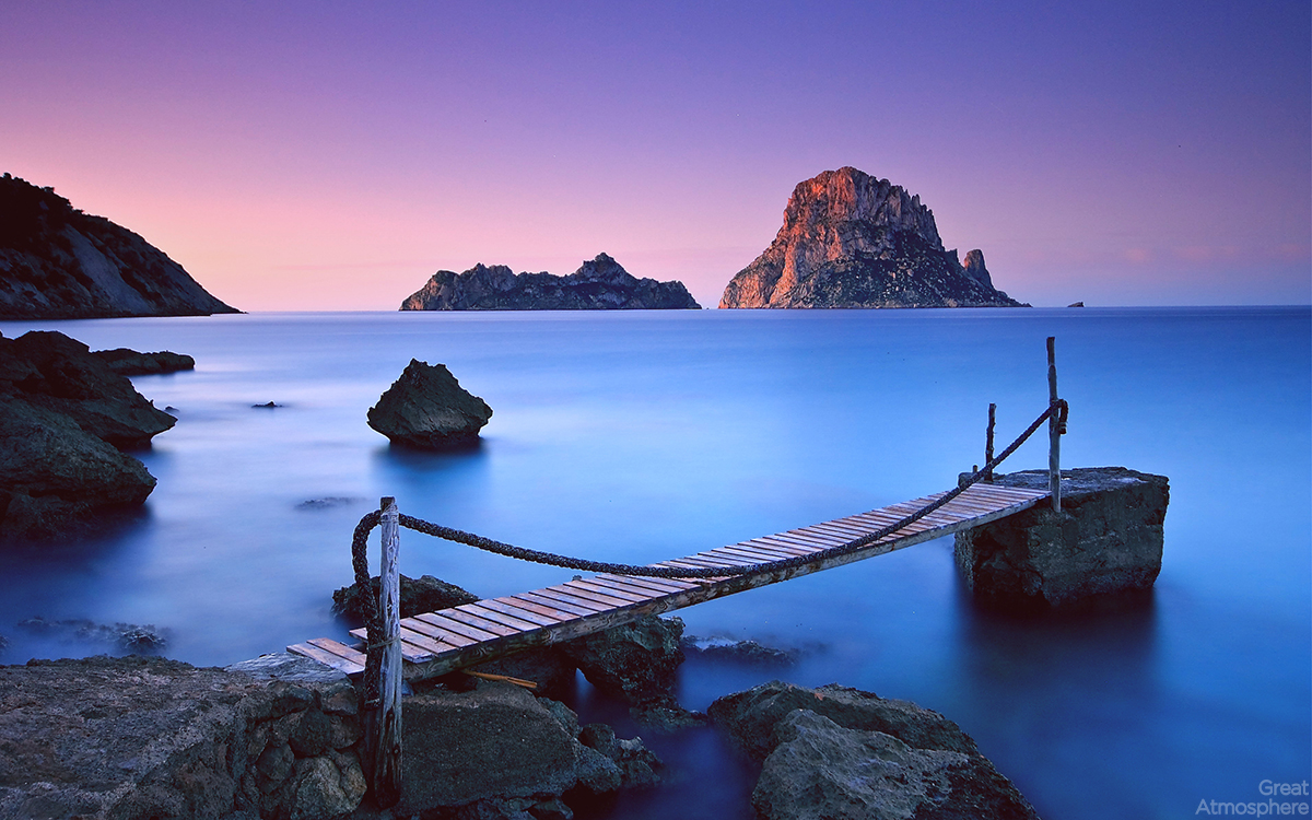 greatatmosphere-nature-landscapes-photography-beautiful-sea-blue-sunset-fog-purple-sky-ocean-rocks-horizon-art-photography-travel-evening-mountains-cliffs-beach-wooden-bridge-wallpapers