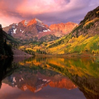 Amazing Colors, Colorado, Sunrise, Aspen on Great Atmosphere
