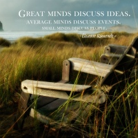 Great minds discuss ideas ... on Great Atmosphere
