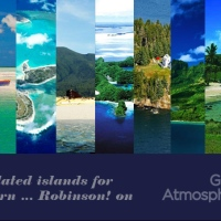 9 isolated islands for modern ... Robinson! on Great Atmosphere
