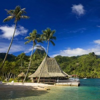 Summer, Travel, Tahiti, Island